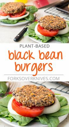 Black Bean Burgers - Plant-Based Vegan Recipe
