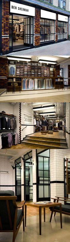 Shoe Store Design, Retail Store Design, Retail Shop, Suit Stores, Retail Architecture, Retail Interior Design, Tailor Shop, Store Interiors, Shops