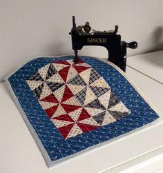Pinwheel Miniature Quilt