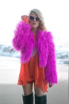 I Hate Blonde: Cute Womens Lolita Sweet Heart Shape Sunglasses 8182