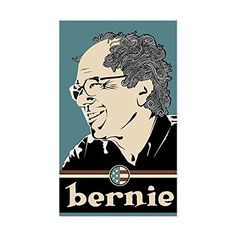 CafePress  Bernie Sanders Sticker Rectangle  Rectangle Bumper Sticker Car Decal *** Click on the image for additional details.