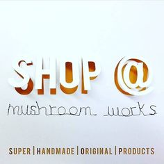 Tomorrow is SHOP DAY!  We're open from 10am - 4pm & we're stocked to the rafters with Super Handmade Original Products!  #mushroomworks #ouseburn #newcastle #northeastcreatives