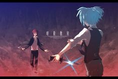 Anime Assassination Classroom  Nagisa Shiota Karma Akabane Wallpaper
