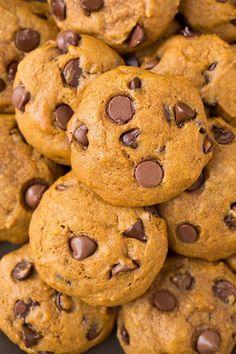 Pumpkin Chocolate Chip Cookies - Cooking Classy