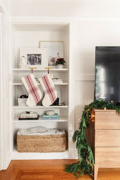 holiday stockings decor