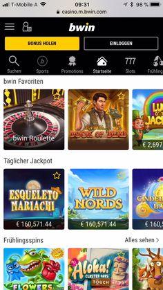 Bwin Casino App im Test 2020 🥇 Hier bis zu Bonus kassieren! Roulette, Mobile Casino, App, Online Casino, Sports Betting, Landing Pages, Interesting Facts, Apps