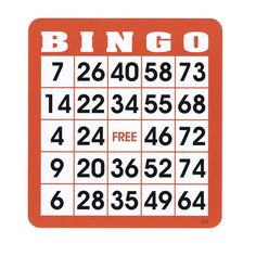 Re-useable Bingo Hard Cards (Pkg. are ideally suited to use with bingo chips. These cards feature large inch numbers for easy viewing and are printed on Free Printable Bingo Cards, Printables, Casino Machines, Bingo Chips, Bingo Sheets, Casino Decorations, Lunch Specials, Traditional Games, Cooking Games