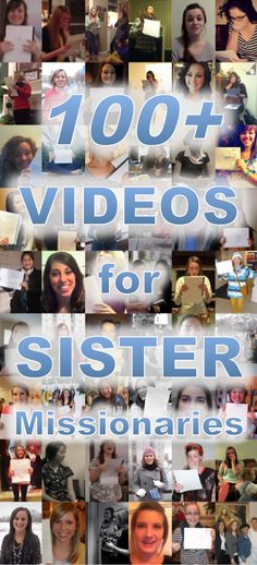 39 Video interviews with LDS sister missionaries and counting! Missionary Mom, Sister Missionaries, Call My Sister, Sister Sister, Lds Mission, Lds Church, Lds Quotes, Heavenly Father, Interview