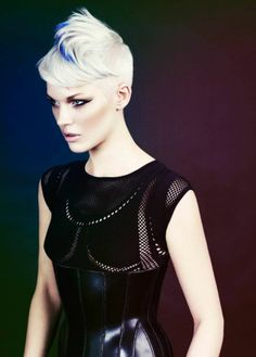 Neo-Burlesque by Mahogany Hairdressing | Check out the collection at salonmagazine.ca #colourstory
