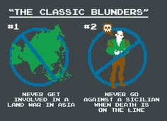 You fell for one of the classic blunders!