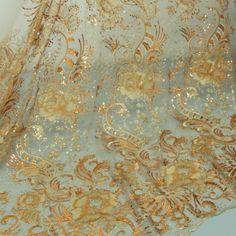 Вышивки ткани кружевной ткани оптовая одежды тканевое оформление 120см (ширина) BYH5306 100.00