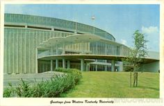 Diddle Arena Postcard (Western Kentucky University)