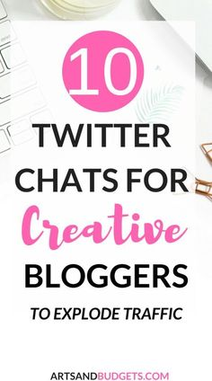 Looking for the best Twitter Chats for Creatives?  If so, check out this post by Guest Poster Jean Lane that shares 10 Twitter Chats For Creatives to grow blog traffic! | How to grow Twitter Following | Twitter for business |  Twitter| How to grow Twitter