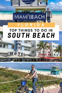 The ultimate guide to things to do in Miami Beach. 7 unmissable places to visit in South Beach Miami including a tour of the South Beach Art Deco district. Usa Travel Guide, Travel Usa, Travel Tips, Air Travel, Travel Deals, Travel Abroad, Travel Hacks, Travel Advice, Travel Essentials