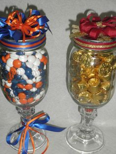 Redneck Wine Glass! I want to do this for Clemson  for sterls
