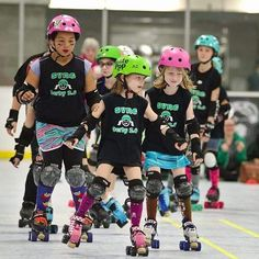 Our little sisters the #SVRG2_0 Web Bruisers fought so hard yesterday against the @scderbygroms. We are incredibly proud that they never once gave up and kept pushing until the very end! A huge thanks to the Groms for coming out the refs and NSOs and the FANS!! All the derby love  by svrollergirls
