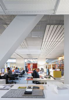 Radiant Heating And Cooling Panels Gensler Los Angeles Office