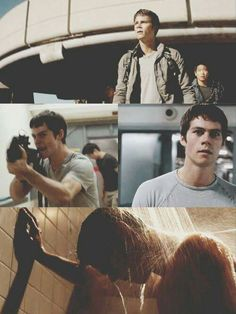 Dylan O'Brien as Thomas in The Scorch Trials coming out Sept 18, 2015