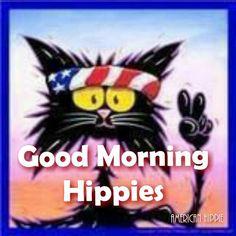 ☮ American Hippie ☮ Good Morning! [Image: Pinterest]