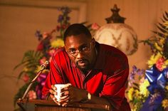 Stringer Bell (Idris Elba) with his cup of tea (The Wire)