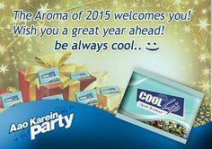 Wishing You a very Cool #HappyNewYear #2015....  #coollipmouthfreshner