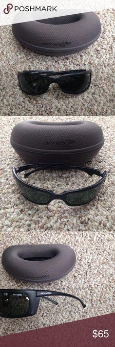 ecea284c4f8 ❤️Arnette Black Wrap Around Sunglasses