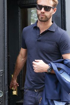 Combining advanced fabrics, a modern tailored fit, and a collar that'll always keep its shape, this polo shirt is unlike any other. You've never worn a polo like this before.
