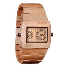 Adirondack Watch Maple, $180, now featured on Fab.