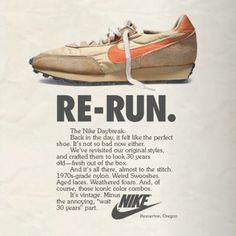 Vintage Nike Ads-re-run