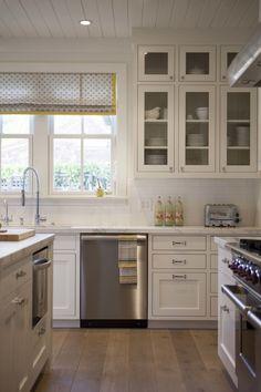 Cabinetry, floors, window