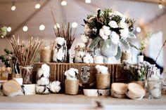 cotton {very Christmas & snow to me}