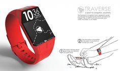 Traverse Navigation Watch | Core77 2013 Design Awards. Best in design for outdoor navigation.