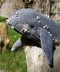 this is an awesome stuff toy. we don't have whales in Jamaica - but maybe in the eastern Caribbean... look at the detail!