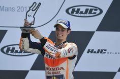 From Vroom Mag... Mixed fortunes for Repsol Honda Team in Le Mans with Dani Pedrosa 3rd, but Marc Marquez DNF