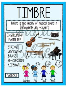 Printable Elements of Music Anchor Charts!  http://www.teacherspayteachers.com/Product/Elements-of-Music-Anchor-Charts-Printable-Posters-880728