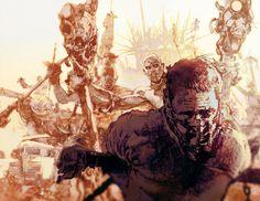 Mad Max: Fury Road - Bill Sienkiewicz