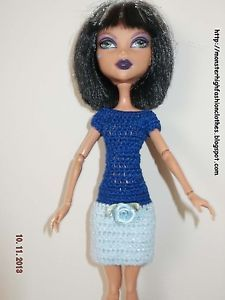 handmade Monster High clothes/ropa/kleidung/vêtements v115 (NOT DOLL)