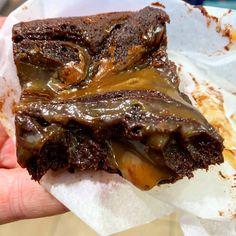 Salted Caramel Brownies, Chocolate Fudge, Rocky Road, Cake Shop, Box Cake, Custom Cakes, Blondies, Welsh, Chocolates