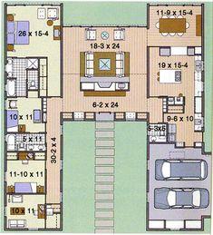 images about House plans etc on Pinterest   Breezeway  Floor    Dream House Plans  Dream Cabin  My Dream House  Dream Houses  Dream Home  Plan Ldh  Southern  Wing Favorite  Life