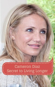 Cameron Diaz spoke to Dr Oz about her outlook on aging and getting old. She also revealed her secret to living longer and how she's hoping to inspire other women.