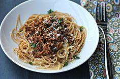 Makaronia me Kima. Greek style spaghetti sauce. Try it. Your taste buds will thank you! :)
