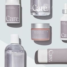 Avec Creates Brand Identity for New DTC Skincare Brand 'Care'