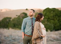 Rustic maternity photography |  | 100 Layer Cakelet