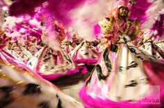 Dancers during the Rio Carnival, Rio de Janeiro, Brazil, South America © Bhaskar Krishnam