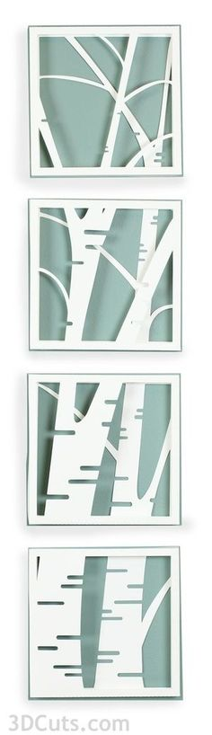 Birch Shadow Box Cutting files are now available at 3dcuts. com Store