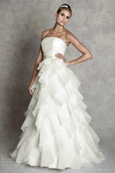 amanda wyatt #wedding dress 2012 marbella #weddingdress #weddings