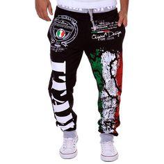 >> Click to Buy << Fashion Men Pants Plus Size Italy Flag Painted Casual Sweatpants Comfortable Cotton Long Pants Hip Hop Drawstring Trousers  LB #Affiliate