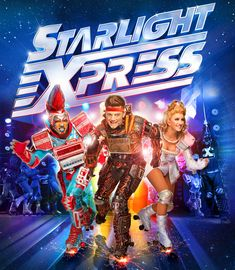 Starlight Express. I saw this in the 90's in Vegas. It's still touring but, not in the U.S. One of Andrew Lloyd Webber's geniuses.