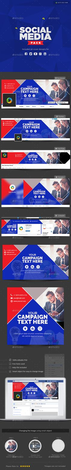 New Twitter Cover Header Template PSD. Download here: http ...
