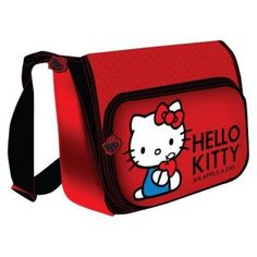 """I'm learning all about Hello Kitty KT4338RH Horizontal Messenger Style 15.4"""" Laptop Case, Red at @Influenster!"""